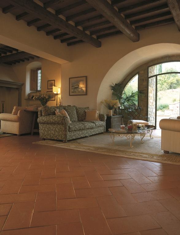 Ručně vyráběné dlažby Cotto Manetti Anticato