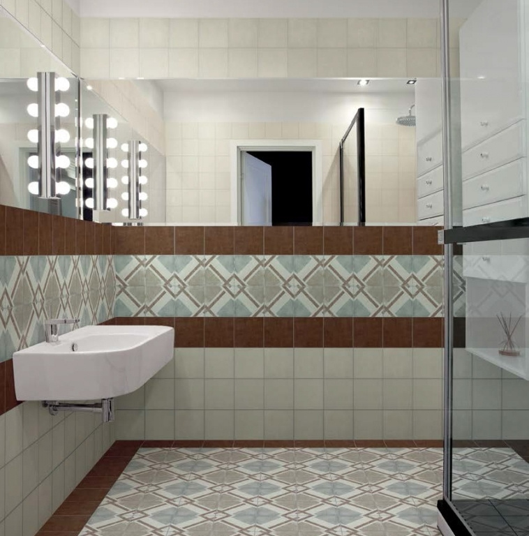 Stylová koupelna retro Cedir Caterina Sforza Beige