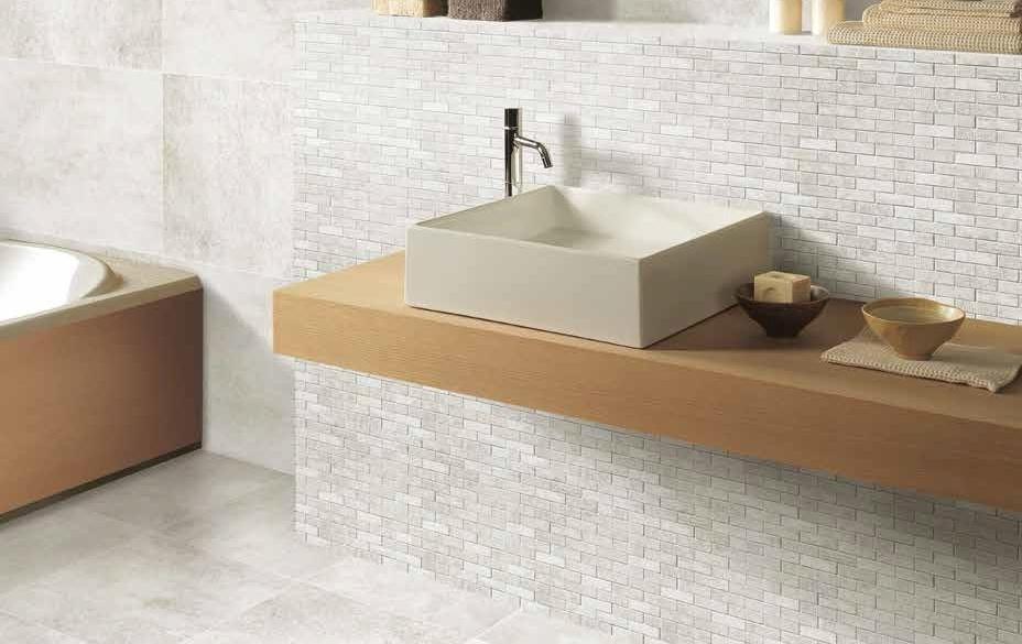 Obdélníková mozaika v kuchyni a koupelně Ricchetti Manhattan SoHo Avorio