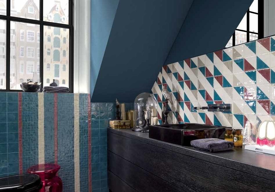 Malé koupelny v podkroví fotogalerie Marca Corona Jolie Rock'n'Roll
