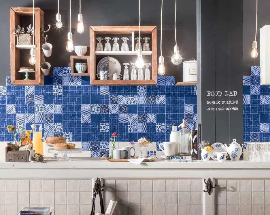 Obklad za kuchyňskou linku s mozaikou Marca Corona Jolie Super Chef