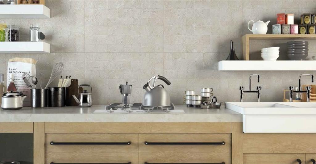 Obklad za linku v kuchyni Settecento Matiere Arbre Ivory