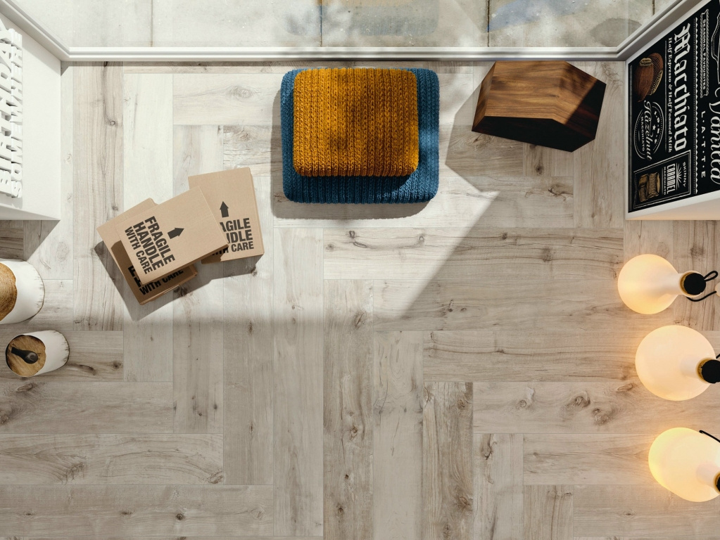 Dlažba do interiéru imitace dřeva Flaviker Dakota Grigio
