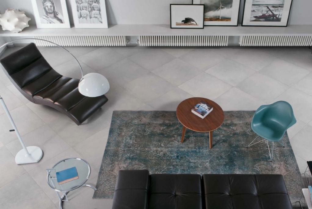 Dlažba do obývacího pokoje Cerdomus Chrome Grey