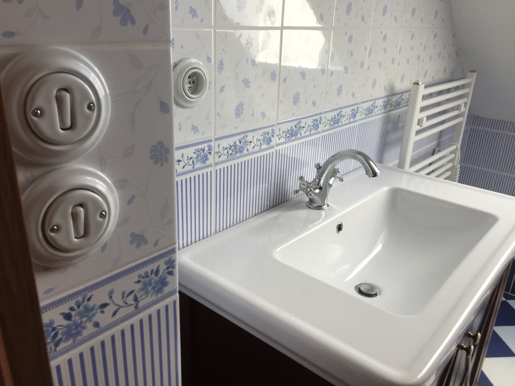 Obklady koupelna inspirace Brennero Ricordi Romantica Bleu