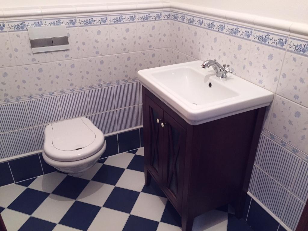 Obklady na wc Brennero Ricordi Romantica Bleu