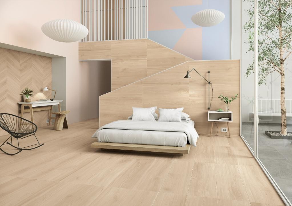 Dlažba v dekoru dřeva Marca Corona Essences Extra Wall