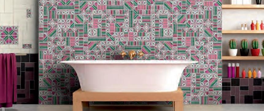 Obklad koupelny Latina Florencia & Conjunto Espina