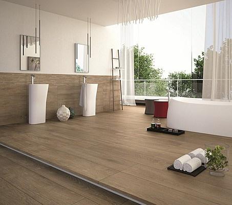 Dlažba v dekoru dřeva Castelvetro Vogue Beige