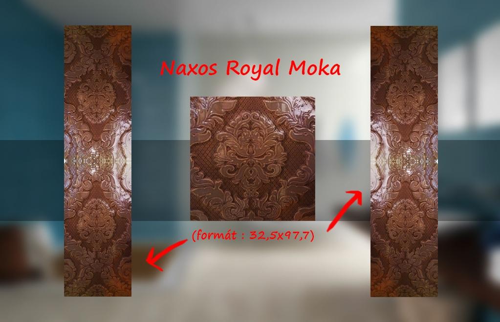 Obklady a dlažby výprodej Naxos Royal Ivory & Moka velkoformátové obklady