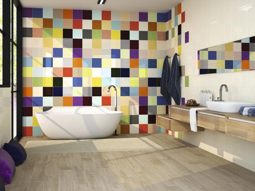 Barevné obklady do koupelny Ape Colors