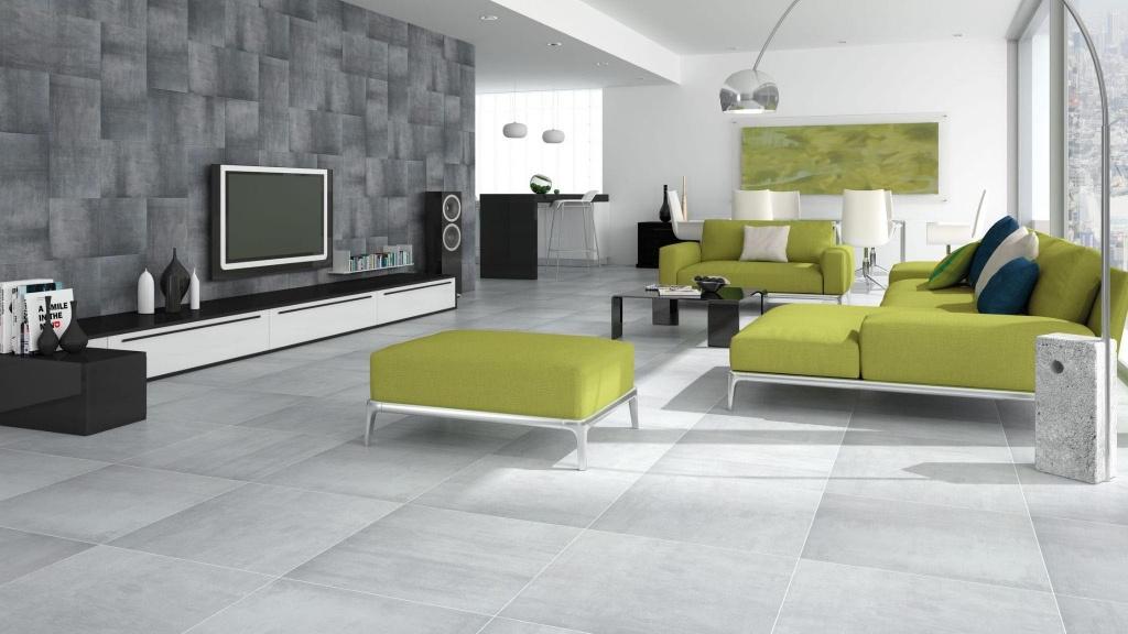 Moderní minimalistická šedá a antracitová dlažba Codicer Cement Gris