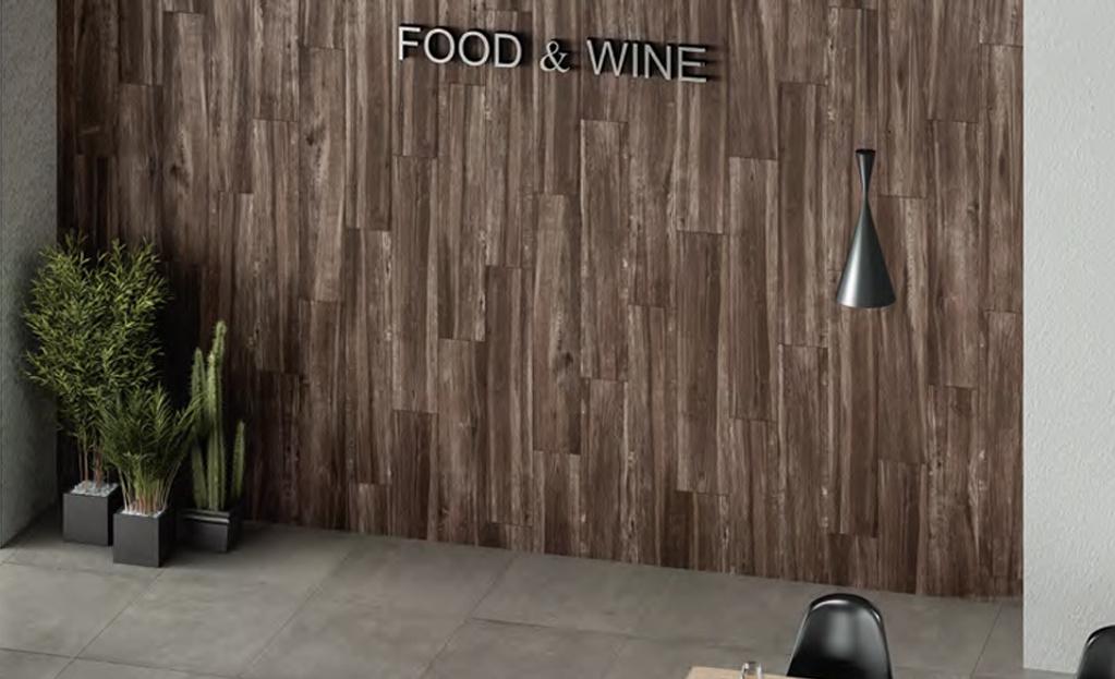 Dlažba barvy dřeva Grupo Halcon Ceramica Baltimore Wengue