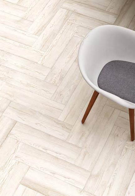 Prkená bílá dlažba Grupo Halcon Ceramica Katmandú Blanco
