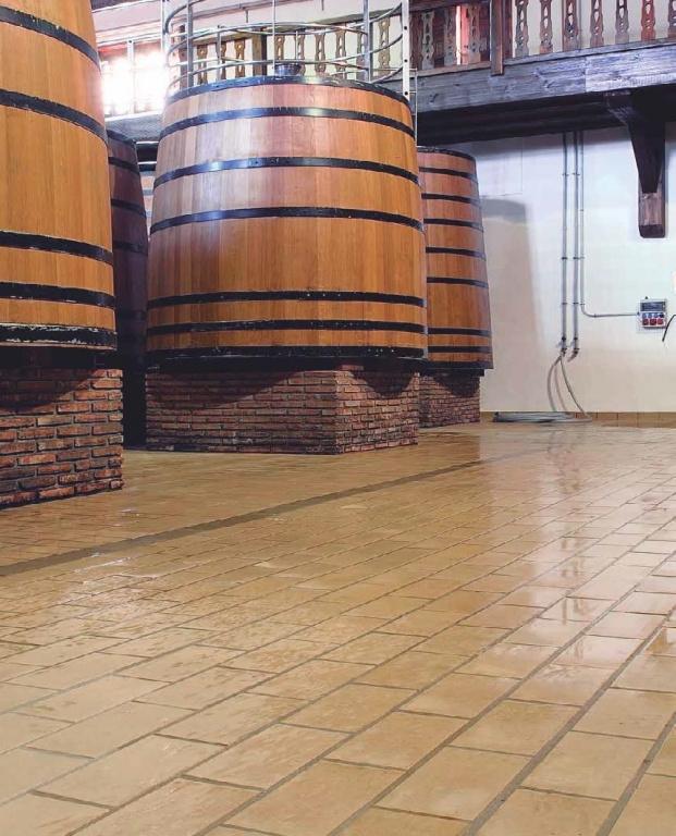Technická dlažba do vinařství  Exagres