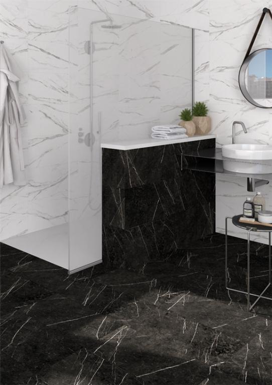 Dlažba imitace mramoru do koupelny Arcana Thalassa