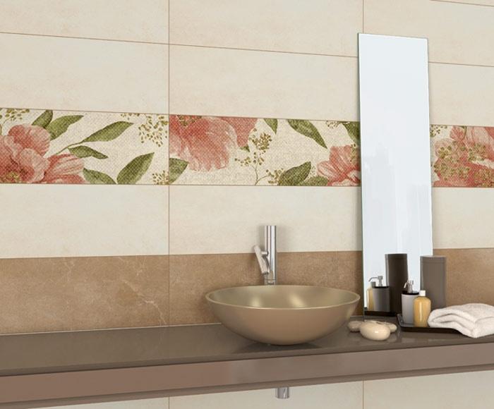Rozkvetlé obklady do koupelny Arcana Urbanity