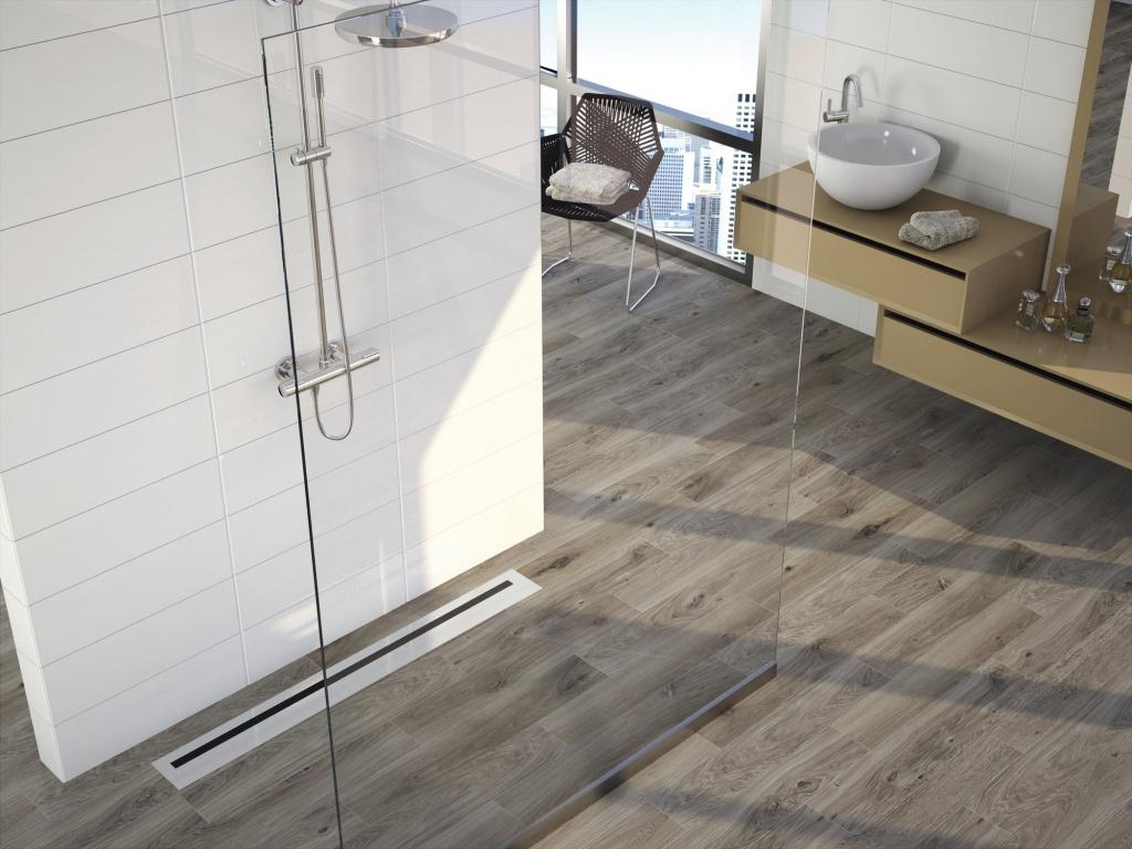 Dlaždice do koupelny jako plovoucí podlaha APE Canadá