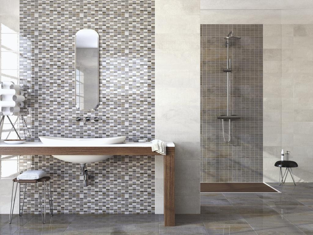 Obklady do koupelny jako mozaika APE Concorde