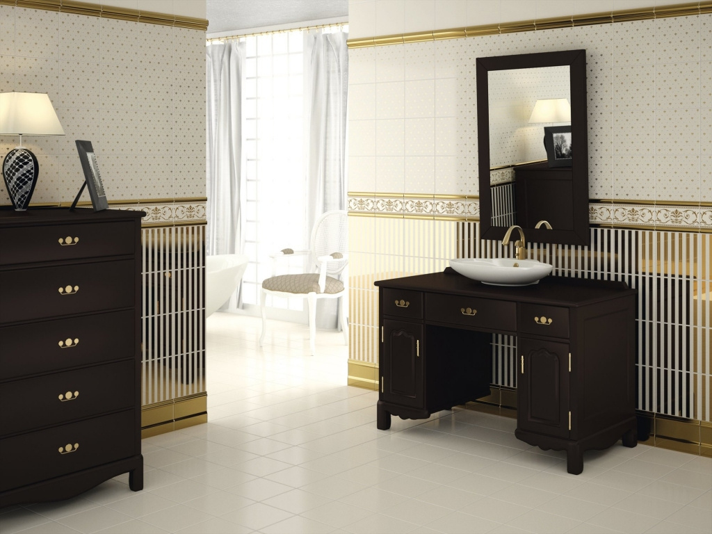 Koupelna jako na zámku APE Dandy