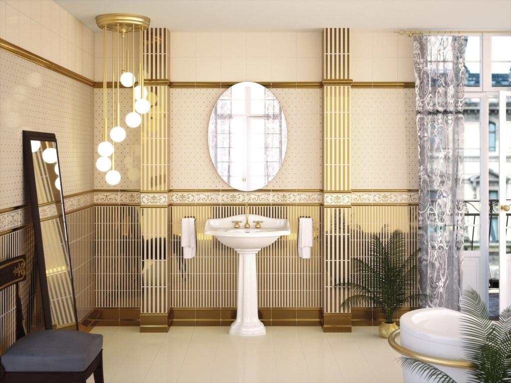 Zlatá koupelna APE Dandy
