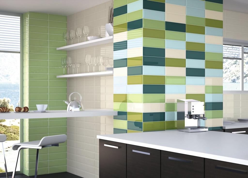 Obklad do kuchyně zelený Ape-Loft