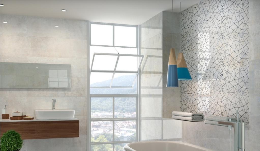 Elegantní bílá koupelna od Ape Timeless