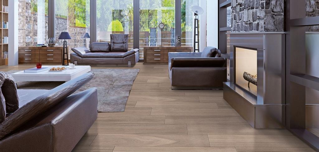 Interiérová dlažba v barvě dřeva od výrobce Cicogres Douglas