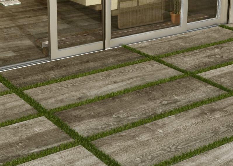 2 cm dlažba v dekoru dřeva Del Conca Dolomiti - HDL203 40x120