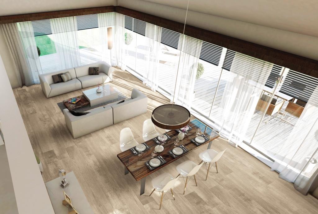 Velkoformátová dlažba s imitaci dřeva Serenissima Le Plance Natural Feeling
