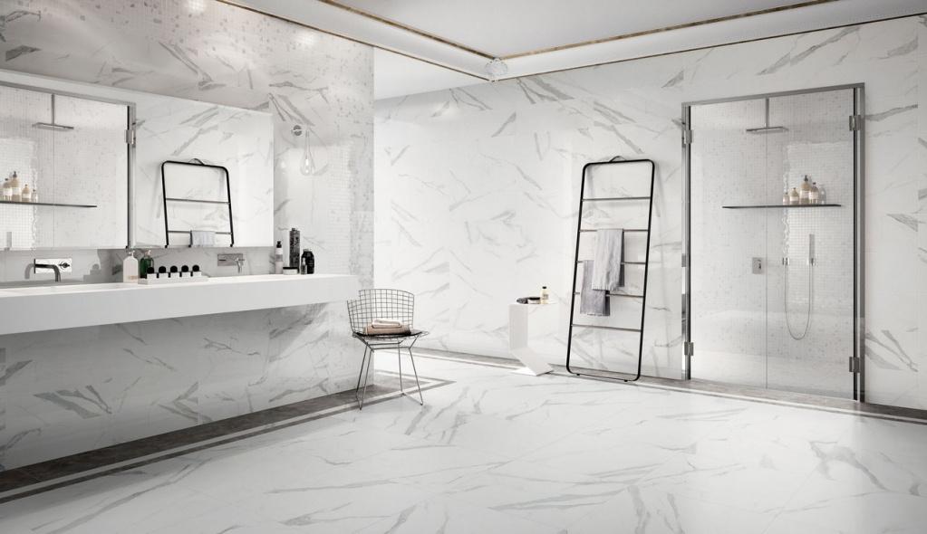MODERNÍ koupelna v imitaci mramoru Sant Agostino Themar