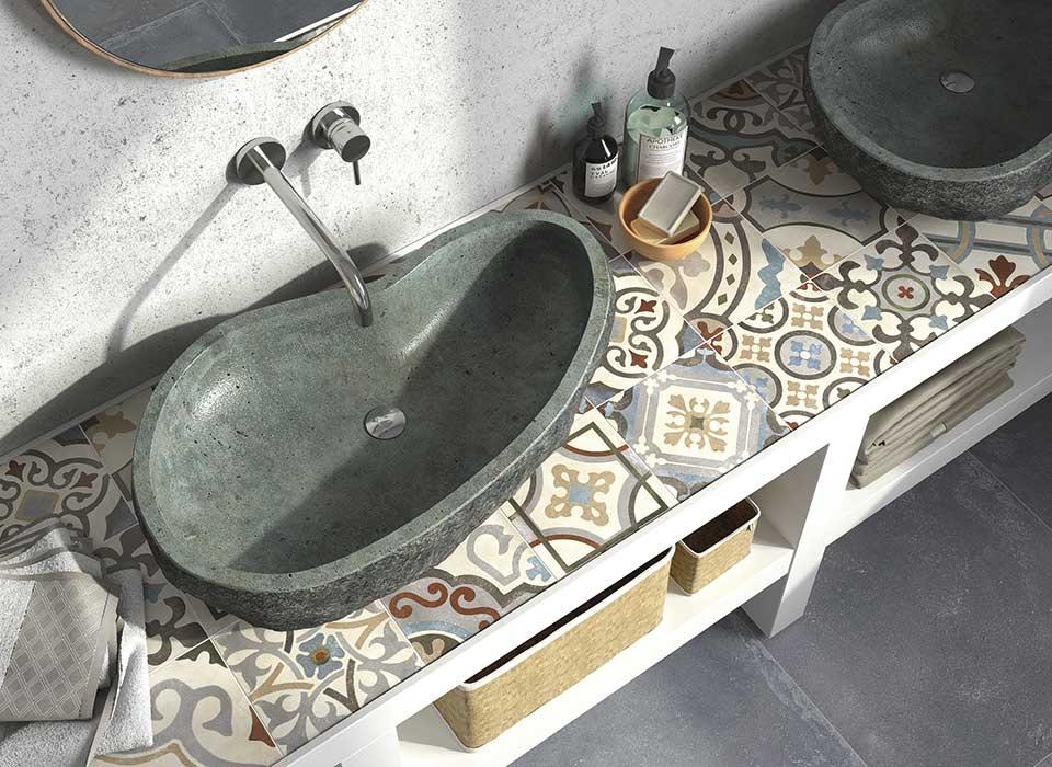 Koupelnový veselý obklad od výrobce Elios D_Esign Evo