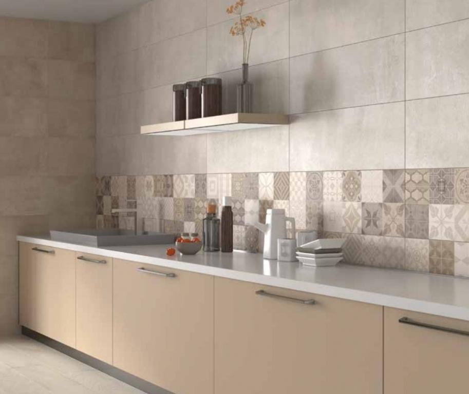 Obklady Midtown Marfil, Taupe a Hidra Midtown 30 x 90 cm vhodné do kuchyně