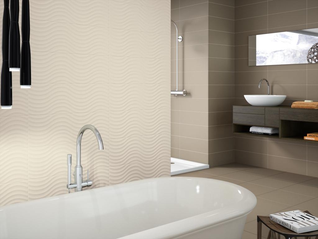 Elegantní koupelna s vlnovkou do koupelny od výrobce Ape Home