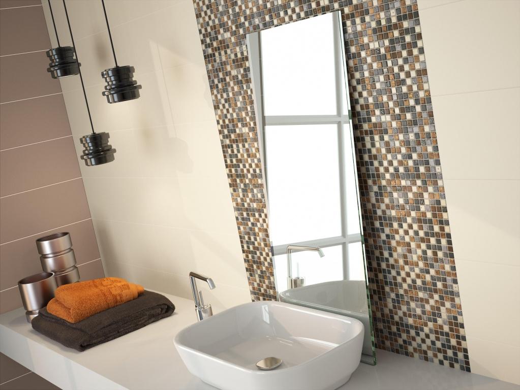 Krásná  a elegantní mozaika do koupelny od výrobce Ape Home