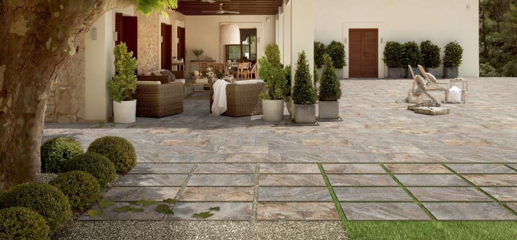 Dlažba imitace kamene s proměnlivým vzhledem Pastorelli SM Ardesia Mix 40x80