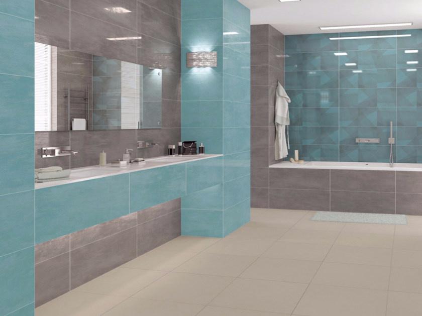 Designové koupelny Ceramic Board Dark Grey & Decor Board Geo
