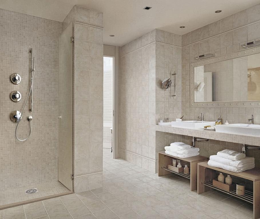 Světlá koupelna od výrobce Elios Pietre del sole