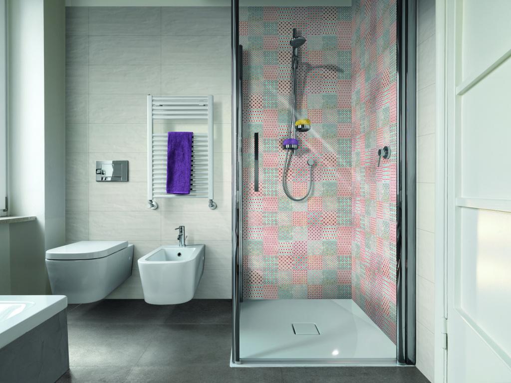 Elegantní patchworková koupelna Mariner Velluto