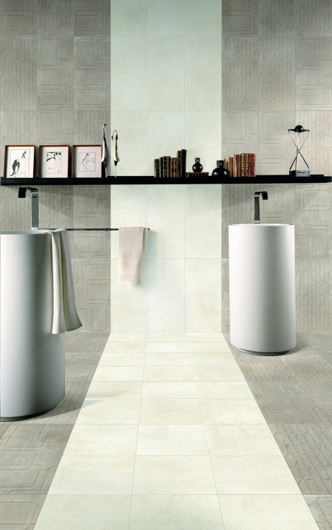 Dlažba jako imitace betonu Mariner Etna 60x60 rett.