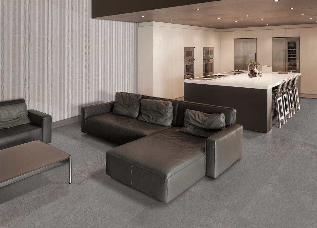 Obdelníková interiérová velkoformátová dlažba od výrobce Cicogres Style