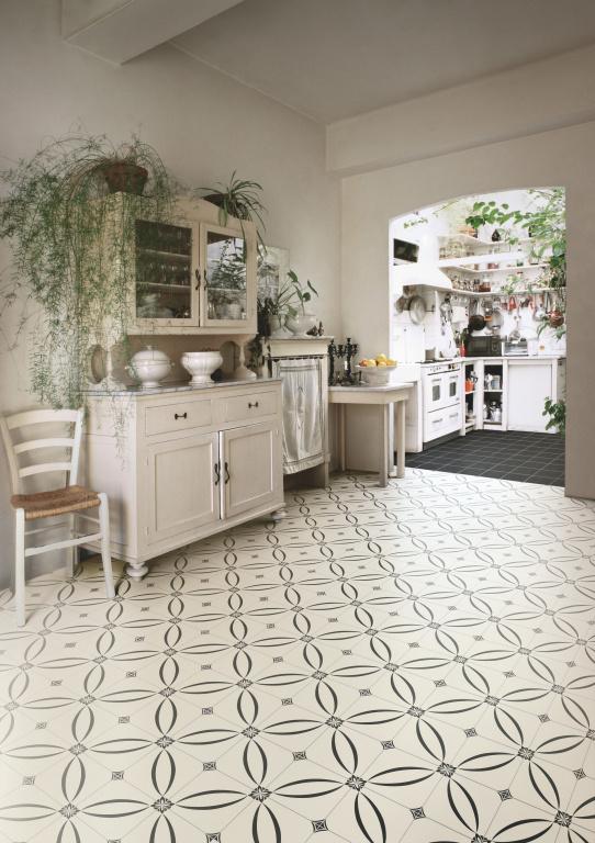 Kuchyňská dlažba s retro vzorem Grazia Althaus