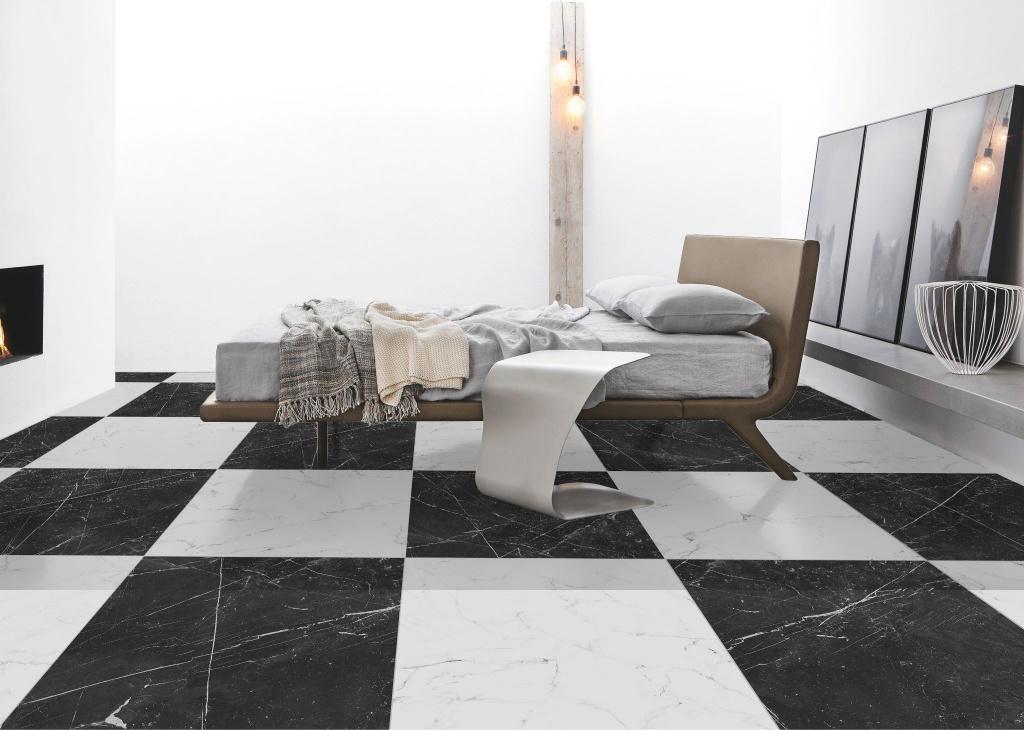 Mramorovo-šachovnicová ložnice Codicer Classic