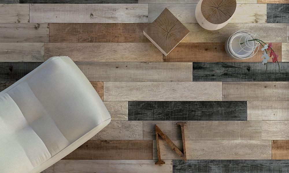 Merrage 2cm dlažby série Noon interpretují podstatu dřeva