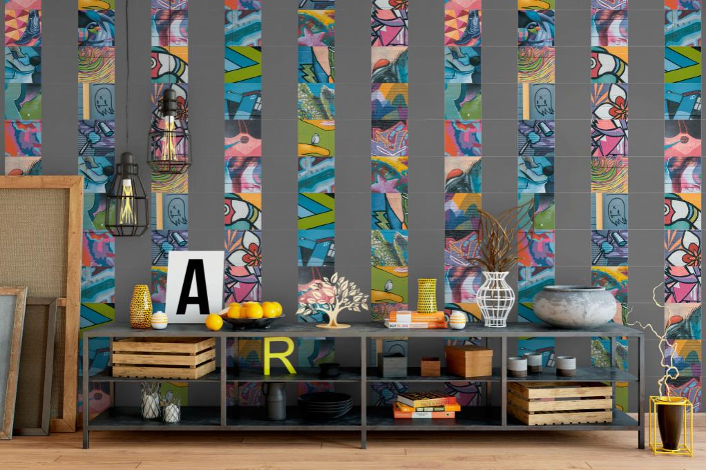 Heralgi Graffiti - barevné obklady ze Španělska