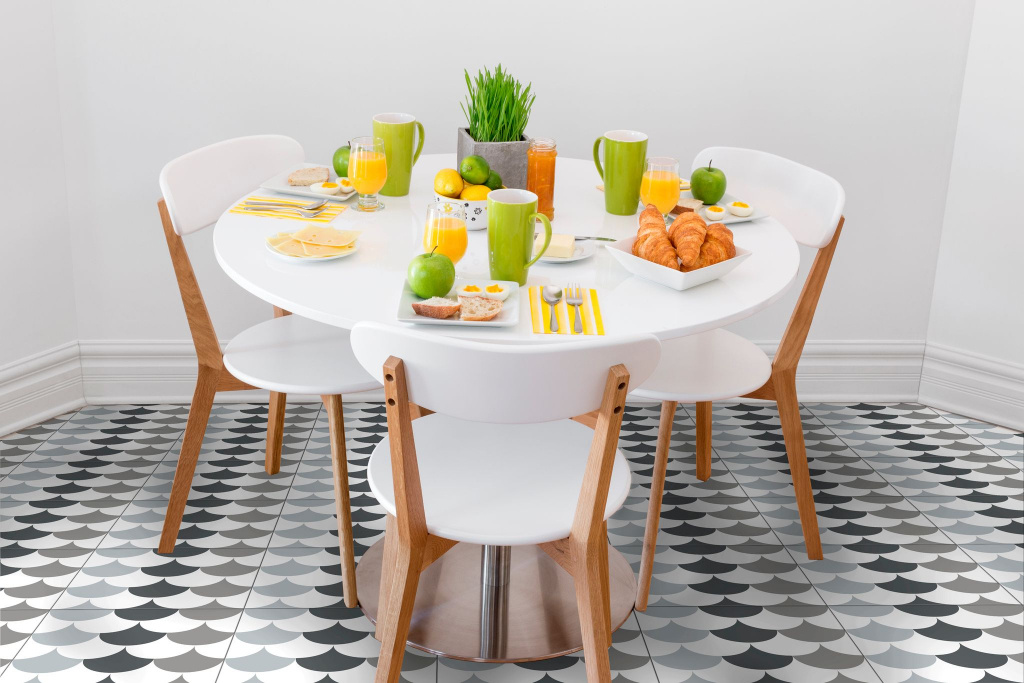 Moderní dlažba Heralgi Trea Dec Floor Grey 20x20