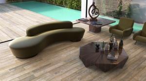Venkovní mrazuvzdorná dlažba imitace dřeva