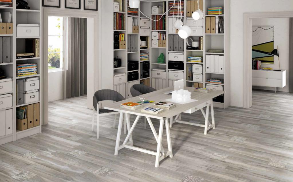 Century Cottage Ortles - šedá imitace dřeva