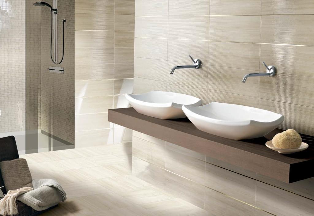 Koupelna s mozaikou v sprchovém koutě Brennero Splendida Shiny Bamboo Turtle