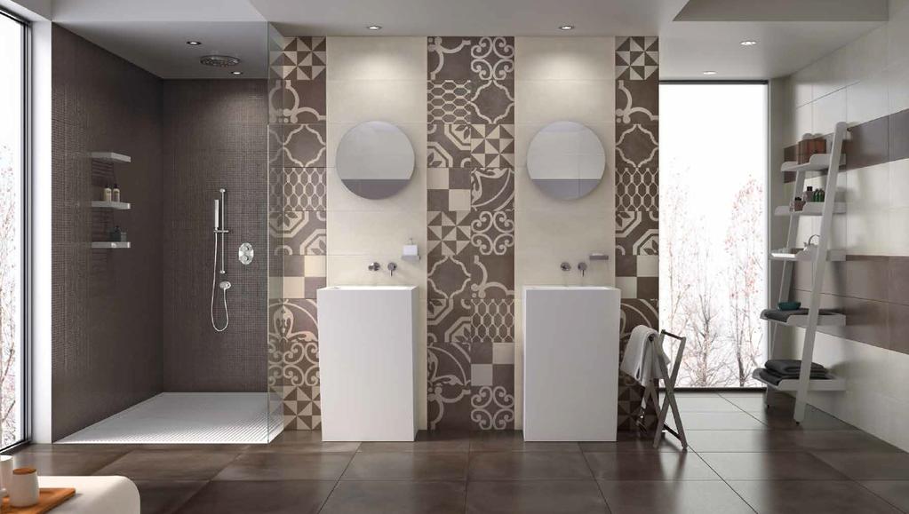 Inspirující koupelna Naxos Argille Almond & Berry